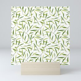 Bamboo Leaves 2 Mini Art Print