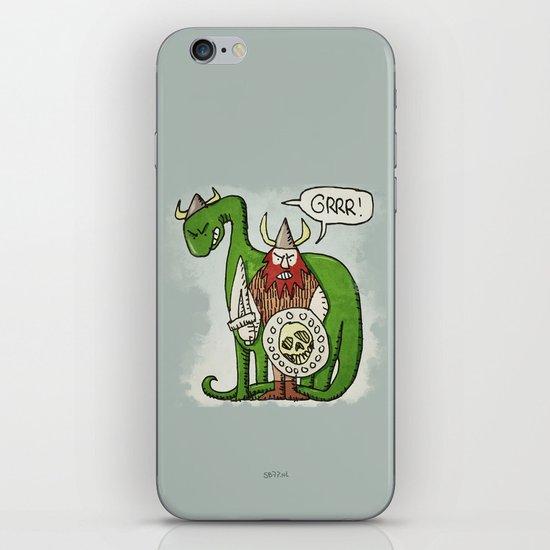 GRRR! (color) iPhone & iPod Skin