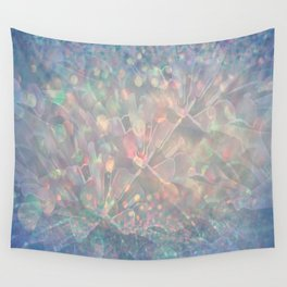 Sparkling Crystal Maze Abstract Wall Tapestry