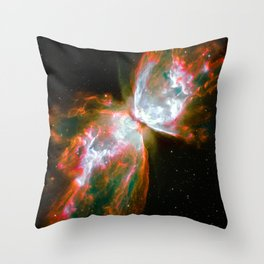 Astral Butterfly Effect Throw Pillow