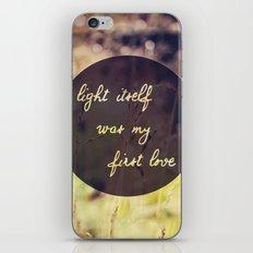 My First Love iPhone Skin