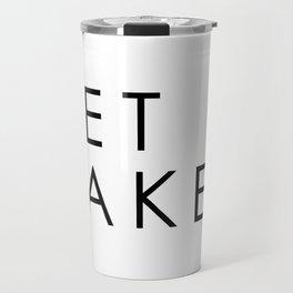GET NAKED, MINIMALIST Travel Mug