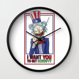 Uncle Rick Wall Clock
