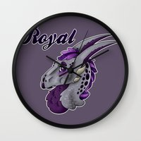 royal Wall Clocks featuring Royal by dewking
