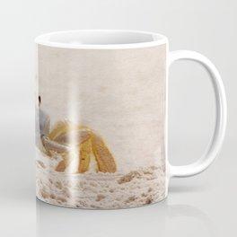 Portrait of a Ghost Crab Coffee Mug