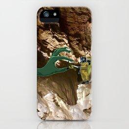 En partageant une clope iPhone Case