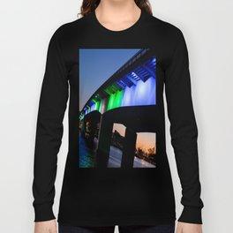 Light the bridge. Long Sleeve T-shirt