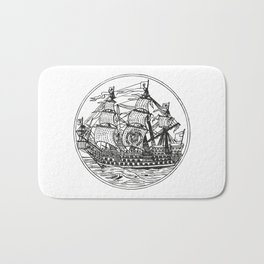 Galleon Bath Mat