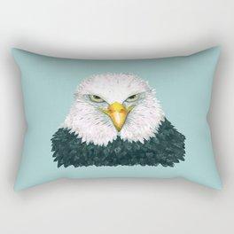 Bald eagle portrait Rectangular Pillow