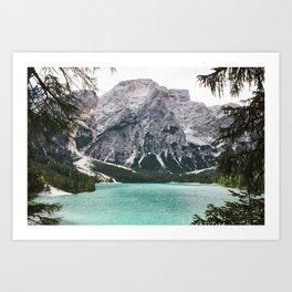 Glacial Heaven Art Print