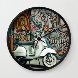 Vespa Chariot Wall Clock