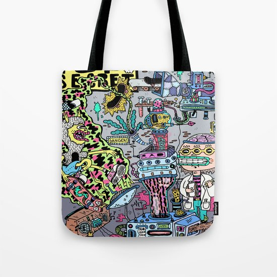 How It's Made: Skateboard Edition Tote Bag