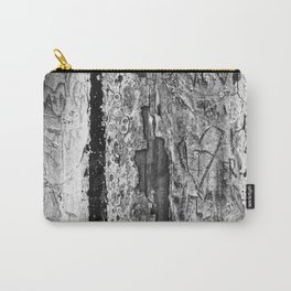 Carvings in Tree Trunk Gnarly Texture Pattern Carry-All Pouch