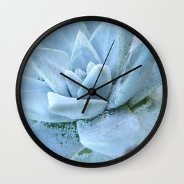 Succulents of the Channel Islands // Scorpion Wall Clock