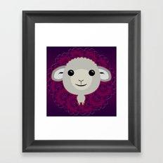 Big Sheep Framed Art Print