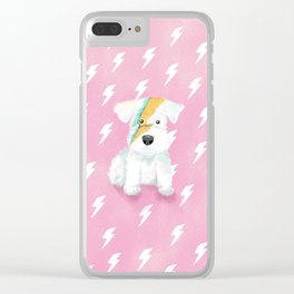 Ziggy the Schnauzer Clear iPhone Case