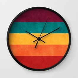 Drew Barrymore's Palette Wall Clock