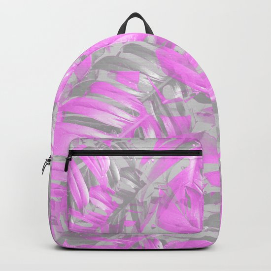 silver and musk, foliage Backpack
