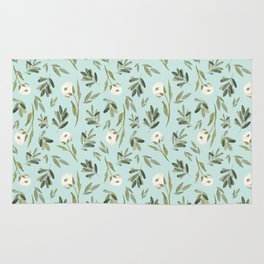 Minted Cotton Rug