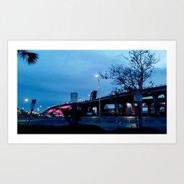 heartbreak bridge Art Print