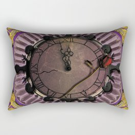 Two Minutes to Midnight Rectangular Pillow