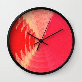 Echoing Sun Wall Clock