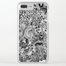 Animal Game (Animaux) Clear iPhone Case