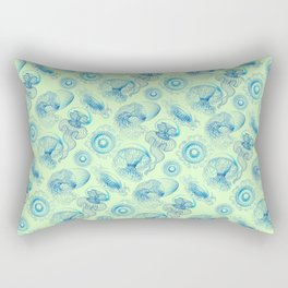 Ernst Haeckel's Leptomedusae Rectangular Pillow