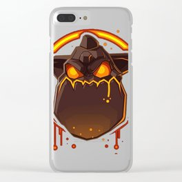 Lava Hound Clear iPhone Case