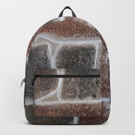 Stone wall colour 6 Backpack