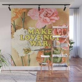Make Love Not War Wall Mural