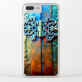 Ophelia (Patina) Clear iPhone Case
