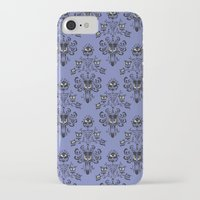 haunted mansion iPhone & iPod Cases featuring Phantom Manor - Haunted Mansion by Katikut