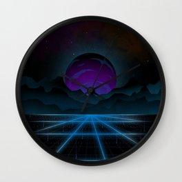 Outrun-2 Wall Clock