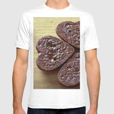 Good luck cookies Mens Fitted Tee MEDIUM White
