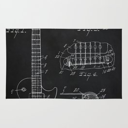 Gibson Guitar Patent Les Paul Vintage Guitar Diagram Rug