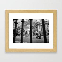 London_Street Framed Art Print
