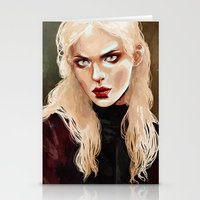 warrior Stationery Cards featuring Warrior by Feline Zegers