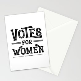 Votes for Women (in black) Stationery Cards