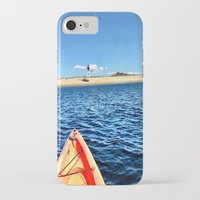 cape cod iPhone & iPod Cases featuring Provincetown, Cape Cod, MA by molliemacks