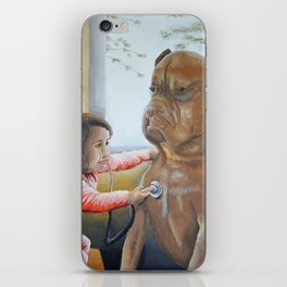 The Little Doctor iPhone Skin