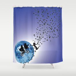 Hello E.T. Shower Curtain