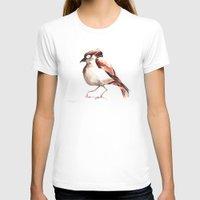 sparrow T-shirts featuring Sparrow by Katrin Kadelke