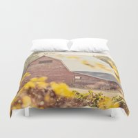 farm Duvet Covers featuring The Farm by Jessica Torres Photography