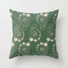 Praisley Throw Pillow