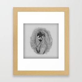 Bride I Framed Art Print