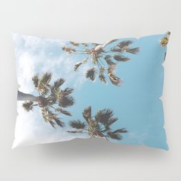 Palms Blue Sky Pillow Sham