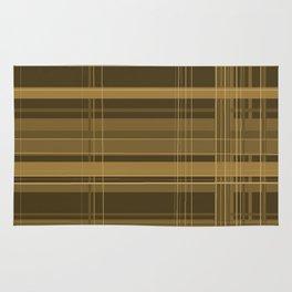Brown Plaid Rug