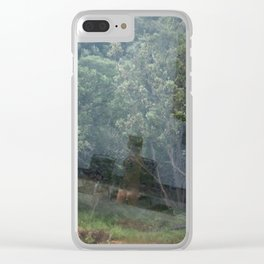 Diary of a Stalker Clear iPhone Case