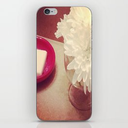 Flower print iPhone Skin